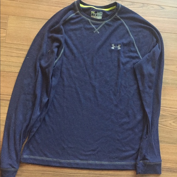Activewear Under Armour Men's All Season Gear Catalyst Long Sleeve Thermal Shirt Size Large